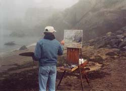 Painting in Maine